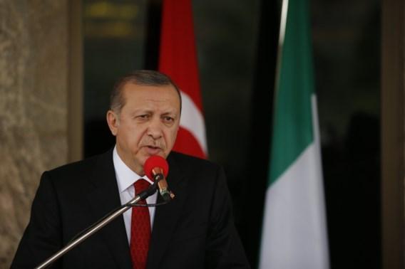 Turkse president wil vluchtelingenstad in Syrië bouwen