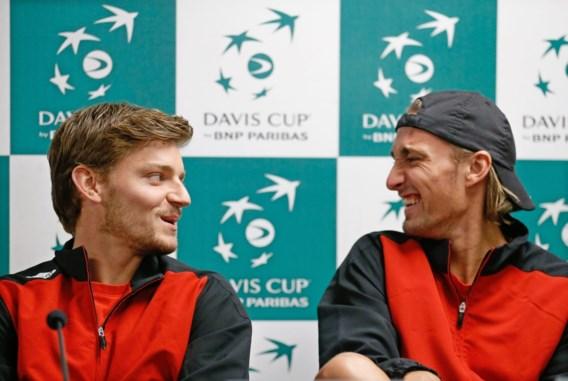 Goffin en Bemelmans treden aan in dubbelspel Davis Cup