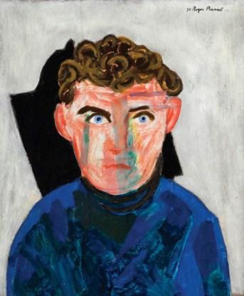 Portret van de 21-jarige Claus.