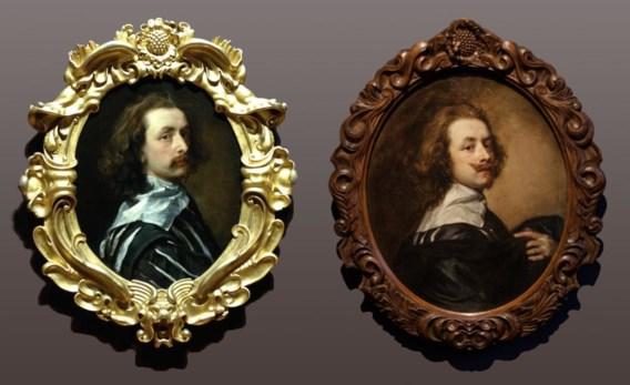 Twee zelfportretten van Anthony van Dyck. Voor het linkse moest de National Portrait Gallery 10 miljoen pond bijeenzoeken. Het rechtse krijgt het Rubenshuis voor geen geld in bruikleen.