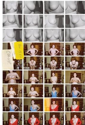 Henry fotografeerde Martha elke avond dwangmatig wanneer ze zich uitkleedde.  Tot ze zijn collectie verscheurde en uit het raam gooide.  Of zo interpreteert  Mariken Wessels de  fotocollectie toch.