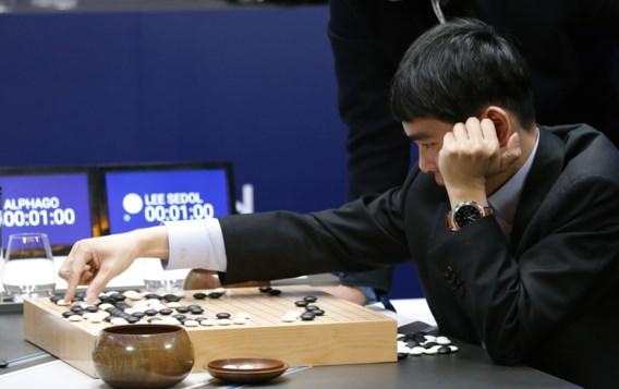 Computer wint derde en beslissende partij van wereldkampioen Go