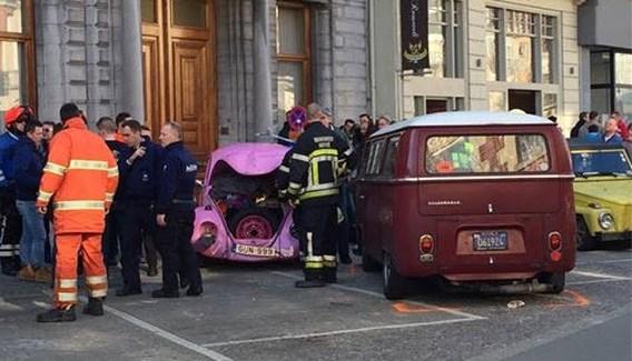 Zwaargewonde slachtoffers bij ongeval op VW-treffen in Ninove