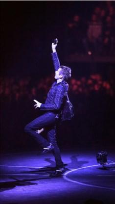 Ja, Matthew Bellamy staat best graag in de belangstelling.