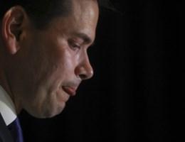 Marco Rubio werpt handdoek in de ring