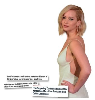 De wereldpers snoepte van het schandaal. Tot Jennifer Lawrence ze  de mond snoerde in 'Vanity Fair'.