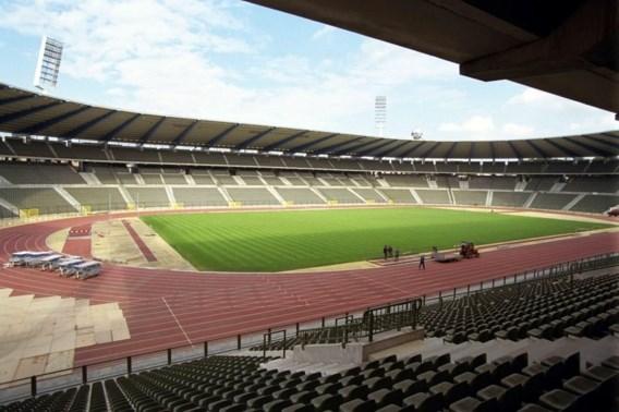 Vlaamse Volksbeweging betoogt tegen Eurostadion