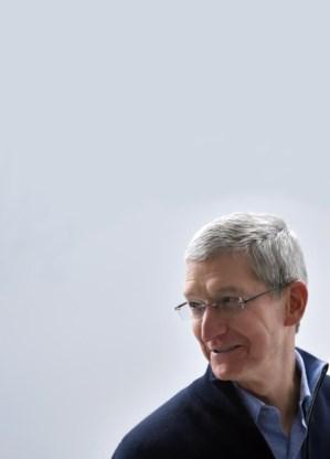 Cook treedt stilaan uit de schaduw van Steve Jobs.