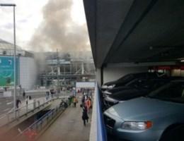 VIDEO. Paniek op luchthaven na explosies