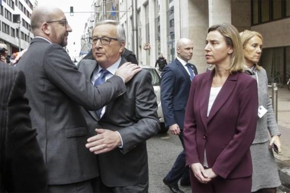 Juncker: 'Belgen mogen trots zijn'