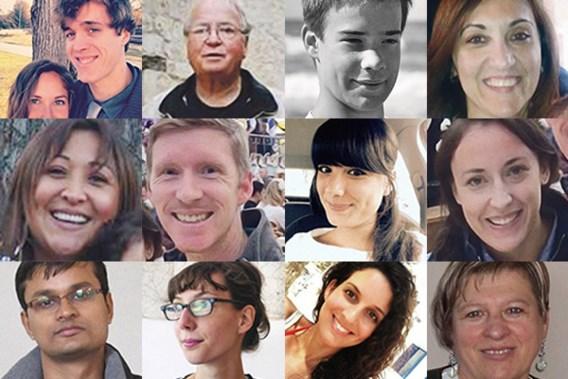 IN MEMORIAM. De slachtoffers van 22 maart