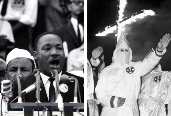 De situatie van de zwarten in de VS is maar verbeterd omdat ze zich, ook verbaal, heftig hebben verzet, onder meer tegen de Ku Klux Klan.