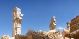 In Palmyra is de ene steen de andere niet