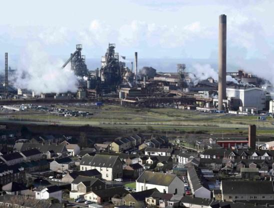 De fabriek van Tata in Port Talbot, het kroonjuweel van de Britse staalindustrie.