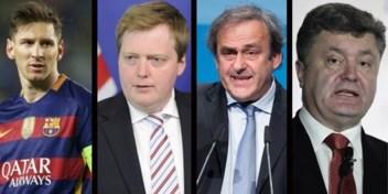 OVERZICHT. Buitenlandse namen in de Panama Papers
