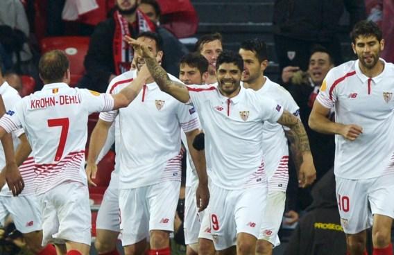 EUROPA LEAGUE. Sevilla en Shakhtar allebei met anderhalf been in halve finales