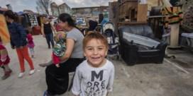Vijftig Roma in sloppenwijk tussen Jette en Laken