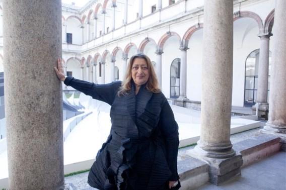 Architectenbureau gaat door zonder Zaha Hadid