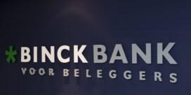 Speculatietaks laat zich voelen bij BinckBank