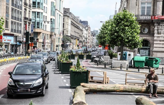 De voetgangerszone in het centrum van Brussel lijkt de inzet te worden van een veel grotere politieke discussie.