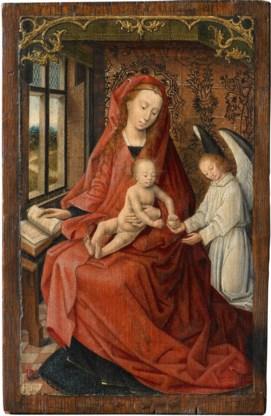 Madonna met kind en engel, een werk met een verleden.