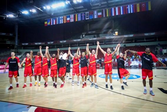 Belgian Lions spelen kwalificatieduels voor EK in Lotto Arena