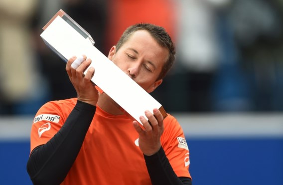 Philipp Kohlschreiber steekt toernooizege ATP München op zak