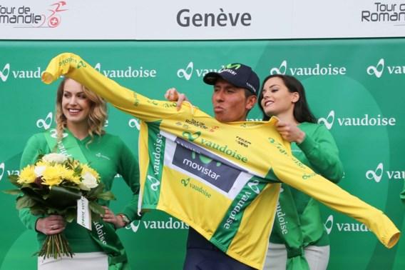 Nairo Quintana springt naar tweede plaats op WorldTour-ranking