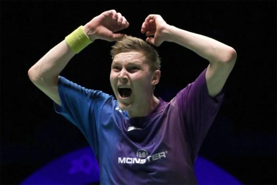 Deen Axelsen pakt Europese titel badminton