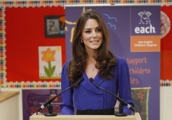 Kate Middleton poseert voor het eerst voor modeblad