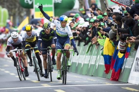 Albasini wint vreemde sprint, Quintana pakt Ronde van Romandië