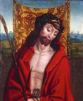 'Ecce Homo', vroeger toegeschreven aan Dirk Bouts. Nu anoniem. 'Graflegging' van Colijn de Coter. De 'Kantwerkster' hangt nu in het Frans Hals Museum.