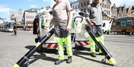 Centrum Gent voortaan elektrisch gestofzuigd