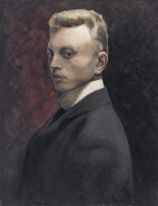 Zelfportret, 1906.