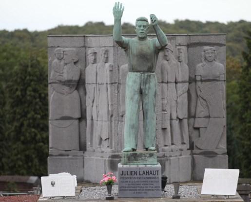 Het graf van Julien Lahaut op de begraafplaats van Seraing.