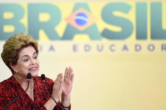 Braziliaanse regering wil afzetting Rousseff nog tegenhouden