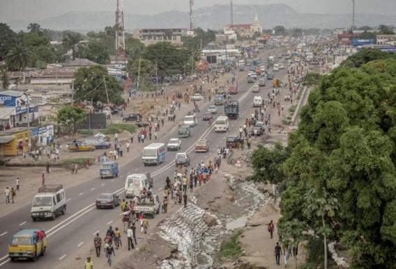 Boulevard Lumumba, Municipality of Kimbanseke, Kinshasa, 2013.