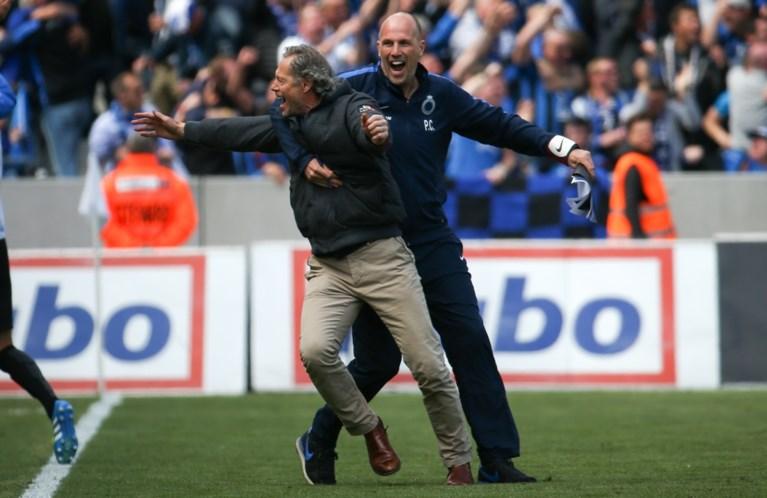 Club Brugge viert eerste titel in elf jaar