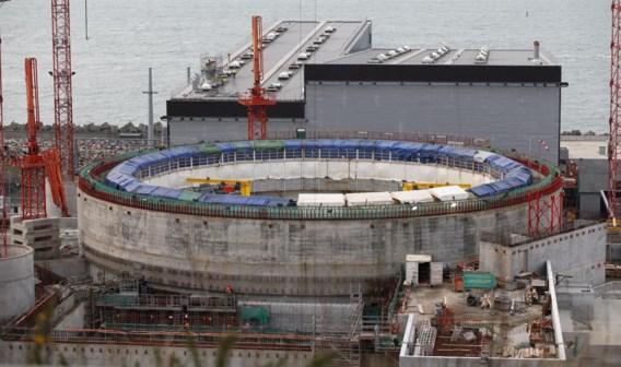 In he Noord-Franse Flamanville wordt volop aan een nieuwe nucleaire centrale gebouwd.