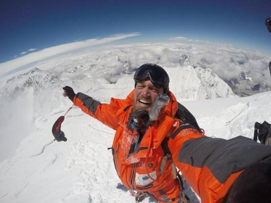 Belg Jelle Veyt bereikt top Mount Everest