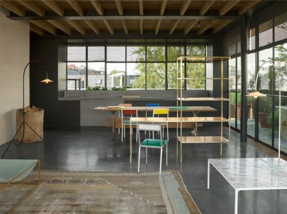 Belgisch design neemt appartement Graanmarkt 13 in