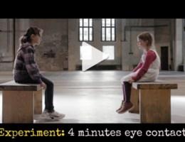 VIDEO. '4 minuten in iemands ogen kijken is genoeg'
