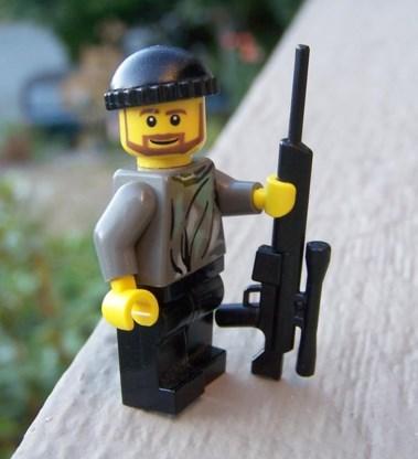 Lego wordt steeds gewelddadiger