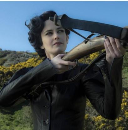 Mevrouw Peregrine.