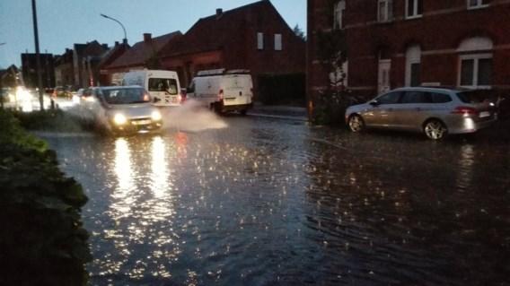 Onweer houdt lelijk huis in Antwerpen