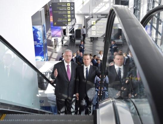 Vierde luchthaven van Moskou geopend