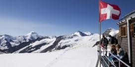 Zwitserland lokt pak minder Belgische toeristen