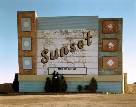 West Ninth Avenue, Amarillo, Texas, in 1974. Uit de serie 'Uncommon places'.