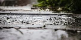 Weer wateroverlast in Pajottenland