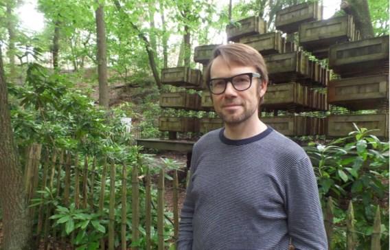 Paul Craenen in het Klankenbos: 'De thematiek heeft veeleer een metaforische betekenis.'